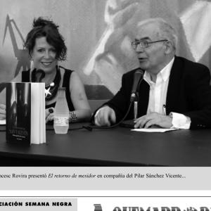 Con Francesc Rovira
