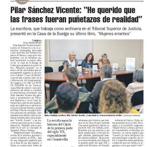 24-9- La nueva España- Mujeres Errantes