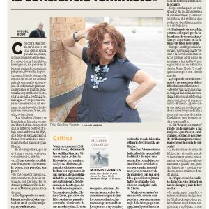 17.11.El Comercio- Pilar Sanchez Vicente