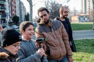 giovani giornalisti al Pilastro