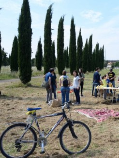 La biciclettata con picnic