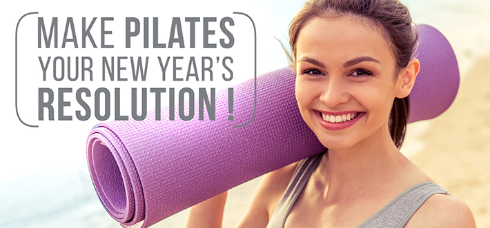 Make Pilates your New Year's resolution !