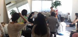studio opening event trainer オープニングイベント トレーナーTomoko写真