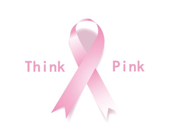 pinkribbon event think pink image ピンクリボンイベント イラスト