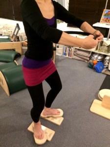 Pilates Equipment Machine Excecise handson FootPrints ピラティス マシン エクササイズ ハンズオン フットプリント