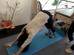 Pilates Equipment Machine Excecise Trial Trapeze Sling Yoga ピラティス マシン エクササイズ 体験会 トラピーズ スリング ヨガ