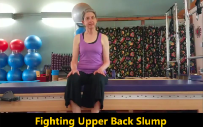 Fighting Upper Back Slump