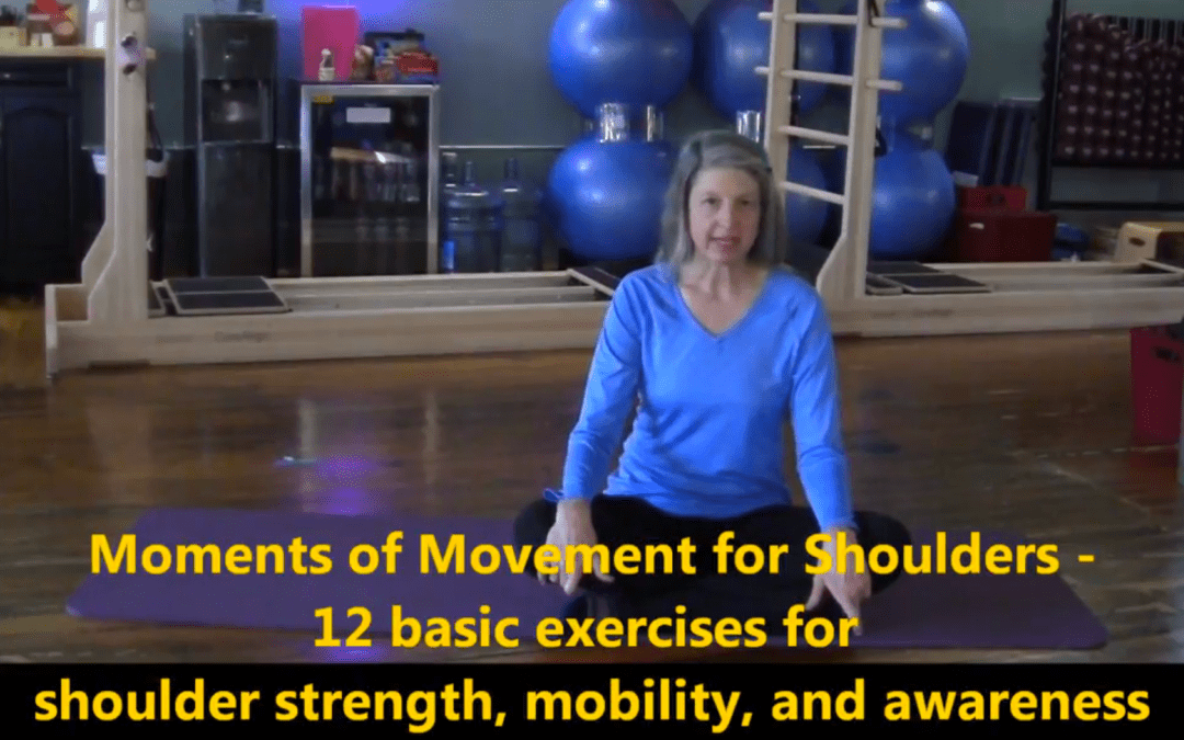 12 Basic Shoulder Exercises for Strength, Mobilization and Awareness: Moments of Movement