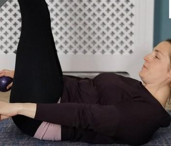 Tough upper body Pilates class
