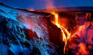 Iceland, island of ice and fire