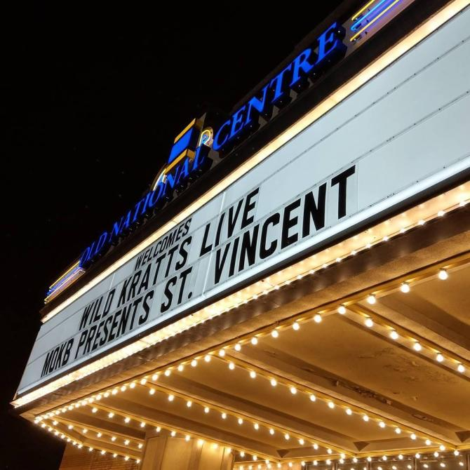 st. vincent marquee
