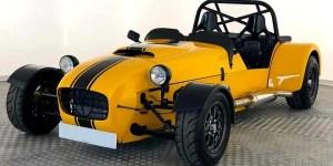 MK Indy Car Yellow