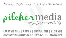 Pilcher Media New Business Cards