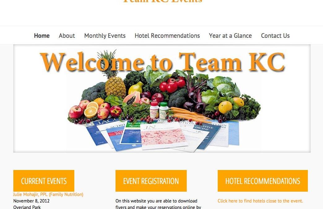 New Website for Team KC JuicePlus!