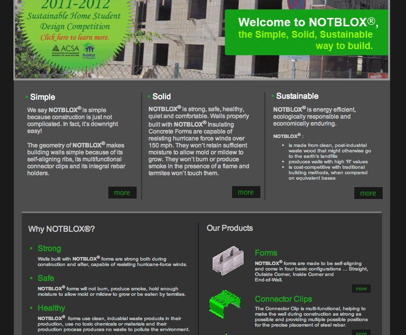 New Award Graphic and Page for the Notblox Website!