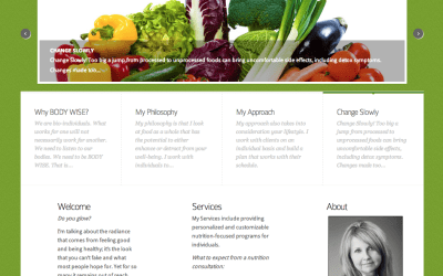 New Website for Body Wise Nutrition
