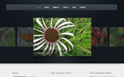 New Website for Naturally Yours Photography!