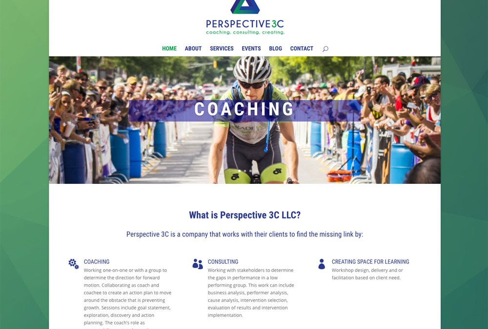New Website for Perspective 3C!