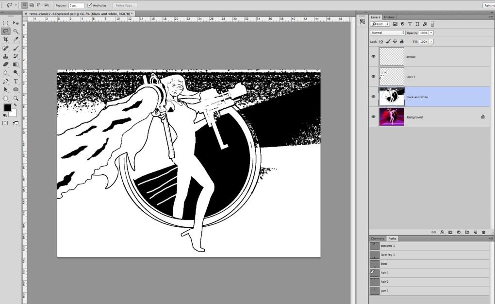 digital comic art 34