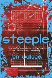 Cover of Steeple by Jon Wallce