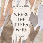 Cover of Where the Trees Were by Inga Simpson