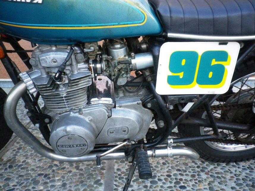 1976 Kawasaki KZ400 2