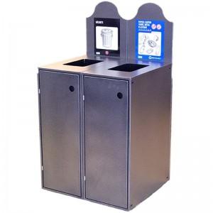 Station Recyclage Dechets Metal Plastique Modulo-902 Pile PourlaVie
