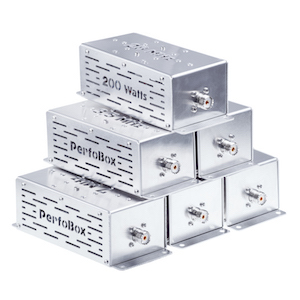 PerfoBox Band Pass Filters