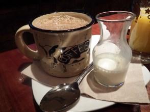 Bareburger- Coffee and Cream