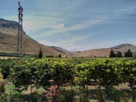 Beautiful drive from Nazareth to Capernaum