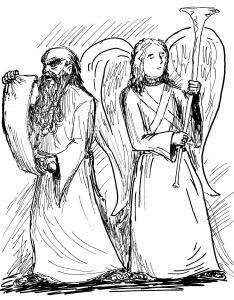 Prophet and Angel 001