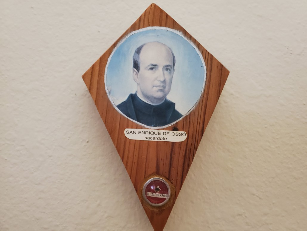 Relic of St. Henry de Osso at Pilgrim Center of Hope