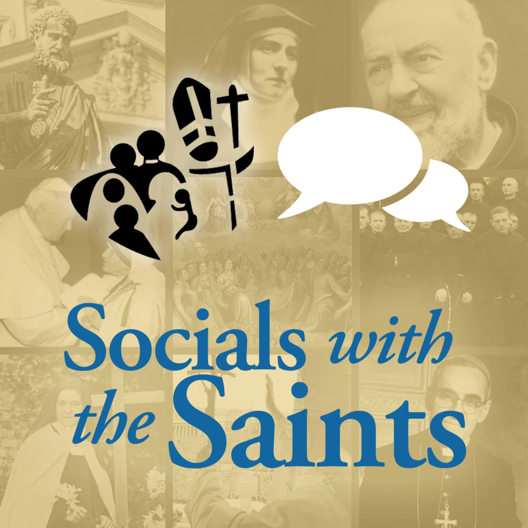 Socials with the Saints