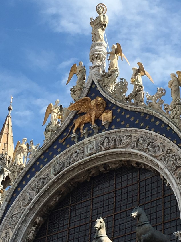 Top of Basilica of St. Mark. - Photo Credit: Debbie Garza