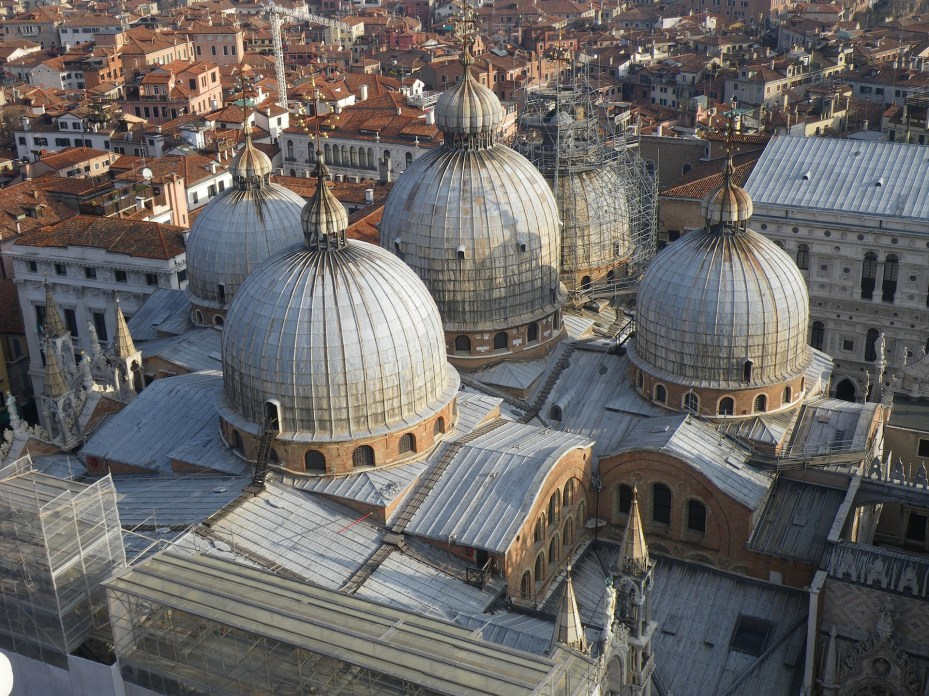 Basilica of St. Mark Aerial View