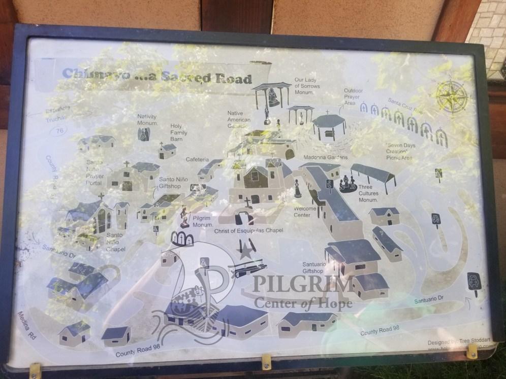 Map of El Santuario de Chimayo