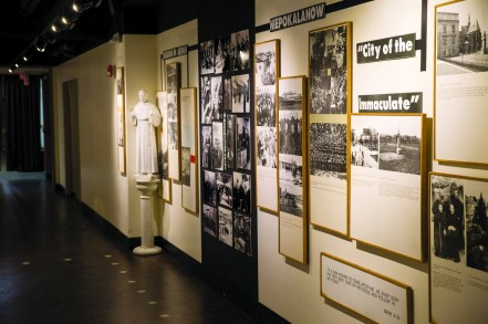 Holocaust Museum - Image courtesy National Shrine of St. Maximilian Kolbe. All rights reserved.