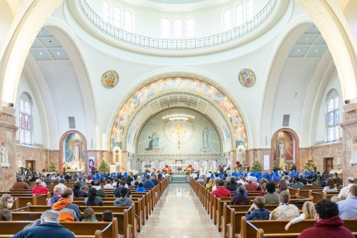 Image courtesy National Shrine of St. Elizabeth Ann Seton. All rights reserved.