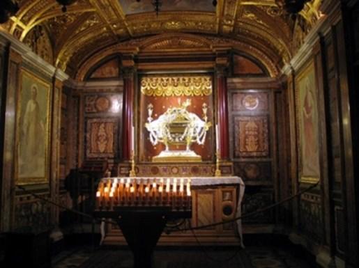 Basilica of St. Mary Major Nativity Relic