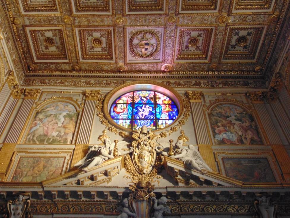 Interior of the Basilica Of St. Mary Major - Nicholas Gemini, CC BY-SA 4.0, via Wikimedia Commons