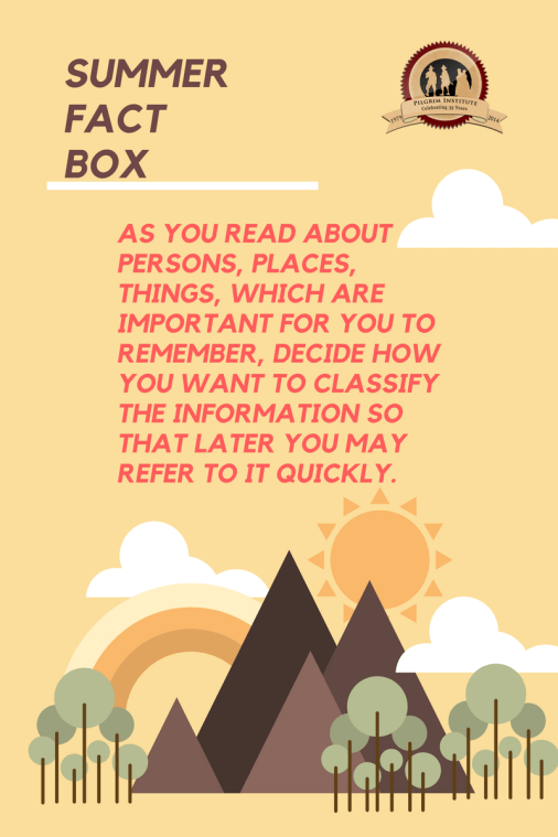 Summer Fact Box