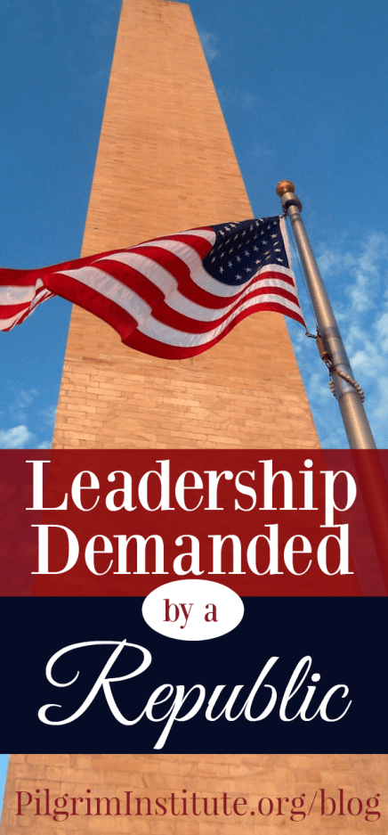 Leadership demanded by a Republic