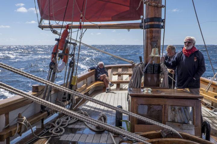 Morning Sailing Trawler Cruise