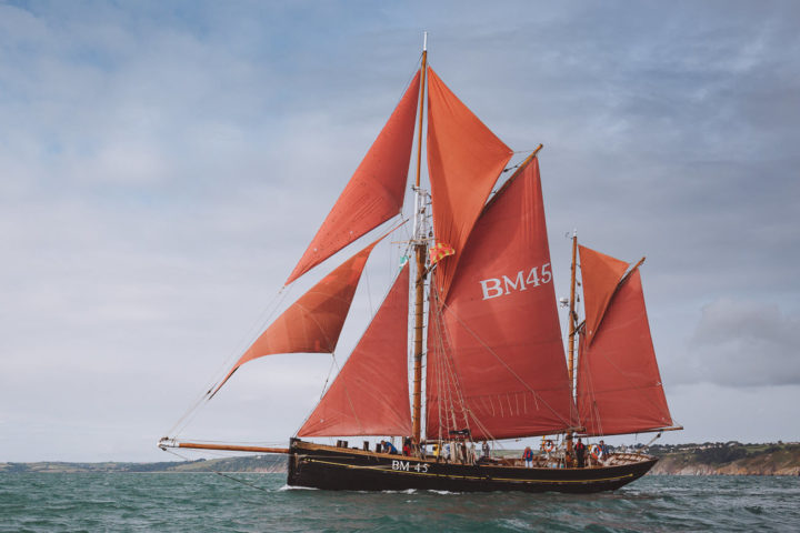 Pilgrim off Dartmouth