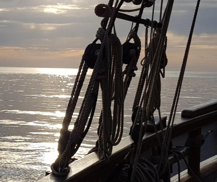 Devon Autumn Day Sailing