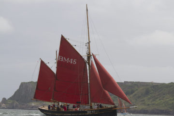 Brixham Trawler Sailing Day