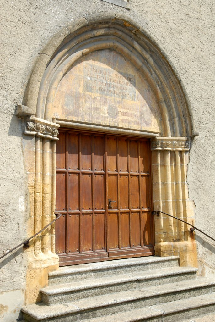 Orbe Protestant Gothic Church