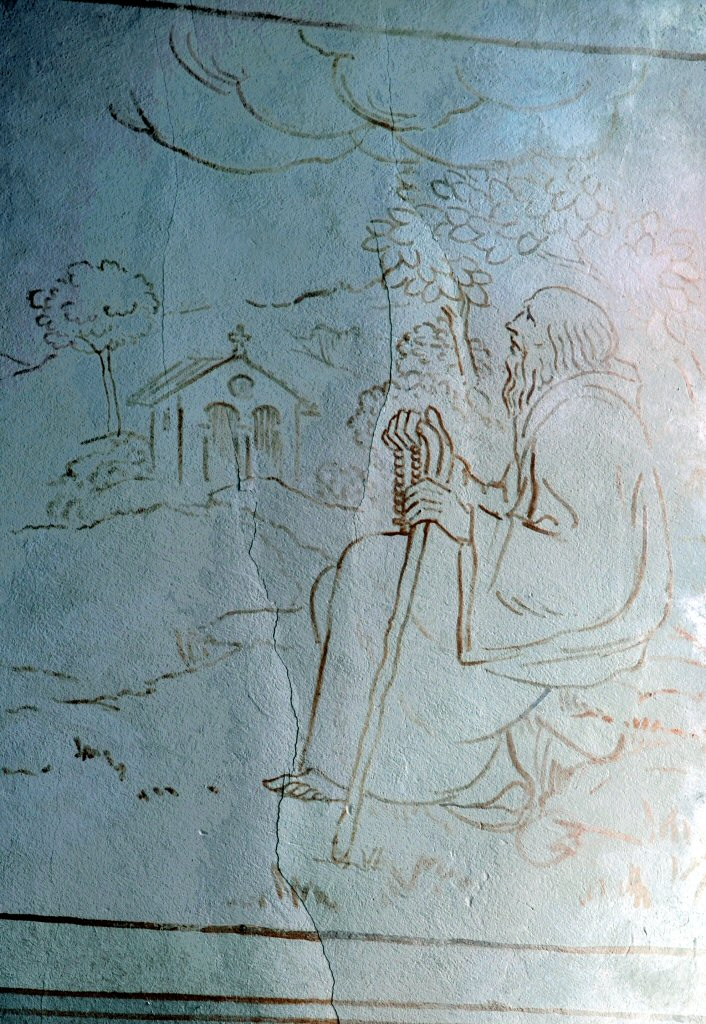 Orbe Church wall painting