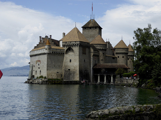 Chateau de Chillon, Lake Geneva