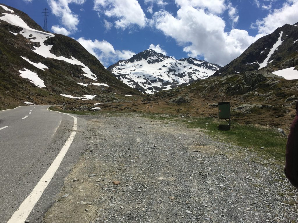 Road up to the Pass